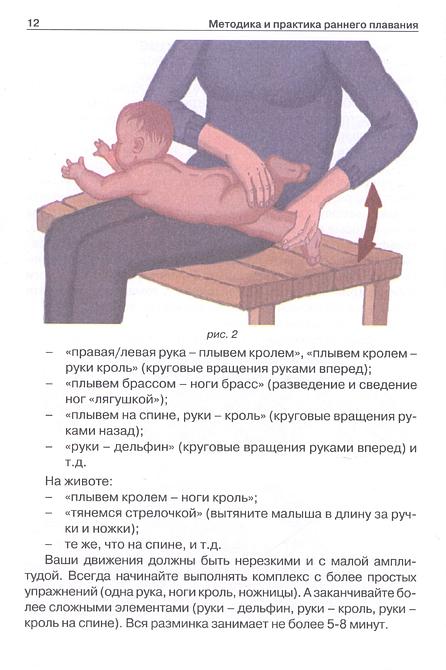 Раннее плавание для малышей: новорожденные и груднички